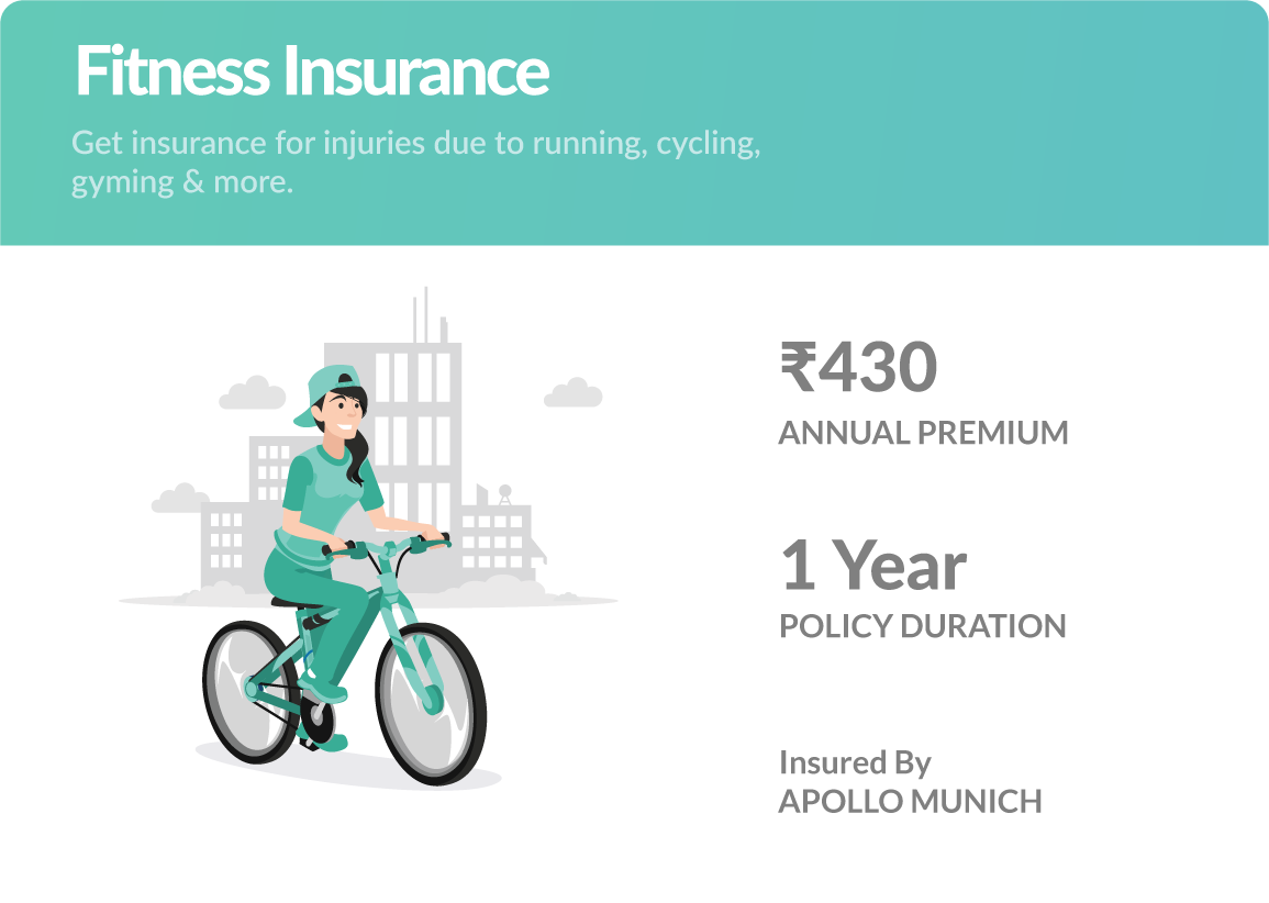 Fitness Insurance by Toffee Insurance